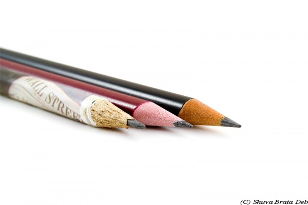 Three pencils
