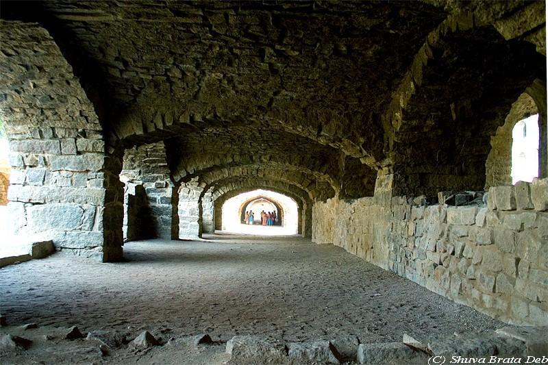 Inside Golconda Fort