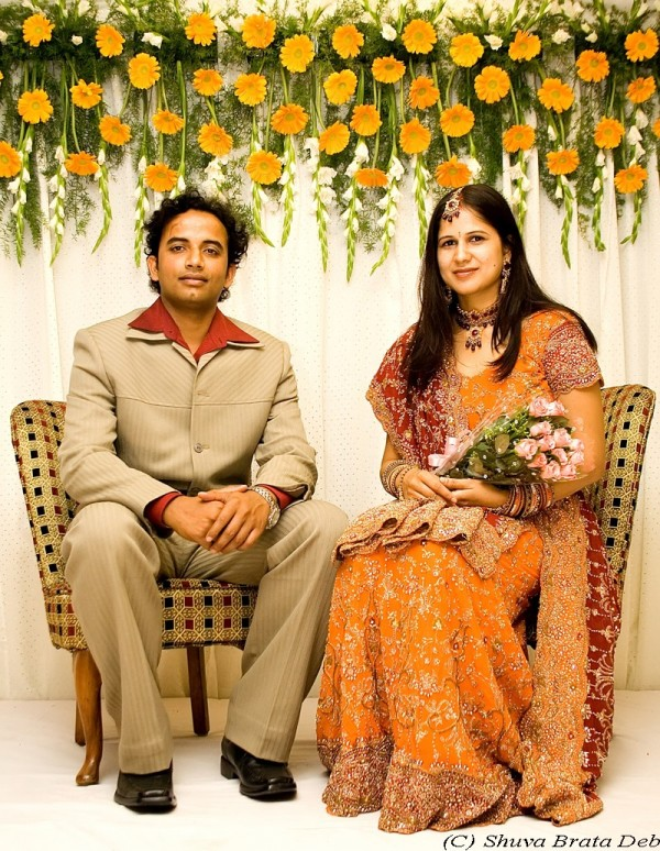 Rakhi and Abhishek