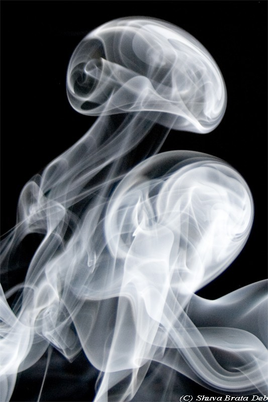 Smoke Art I/VI : The dance