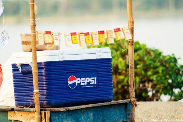 Pepsi selling