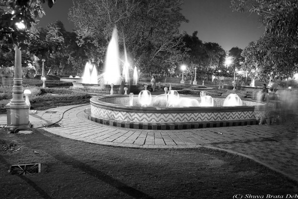 NTR Park at night   VII/VII