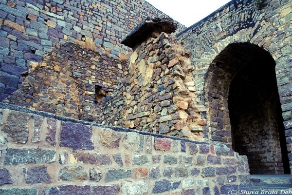 Ruins Golconda Fort