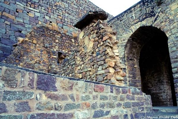 Ruins Golconda Fort