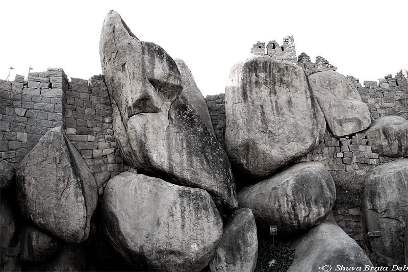 Stones boulders