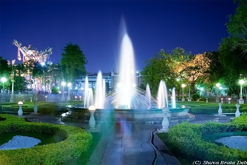 NTR Park at night - V