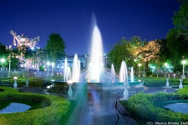 NTR Park at night   V/VII (color)