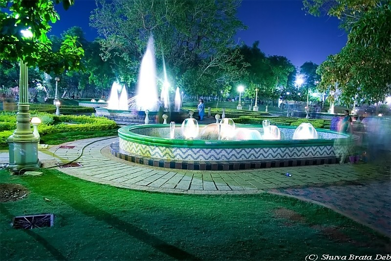 NTR Park at night - VII/VII