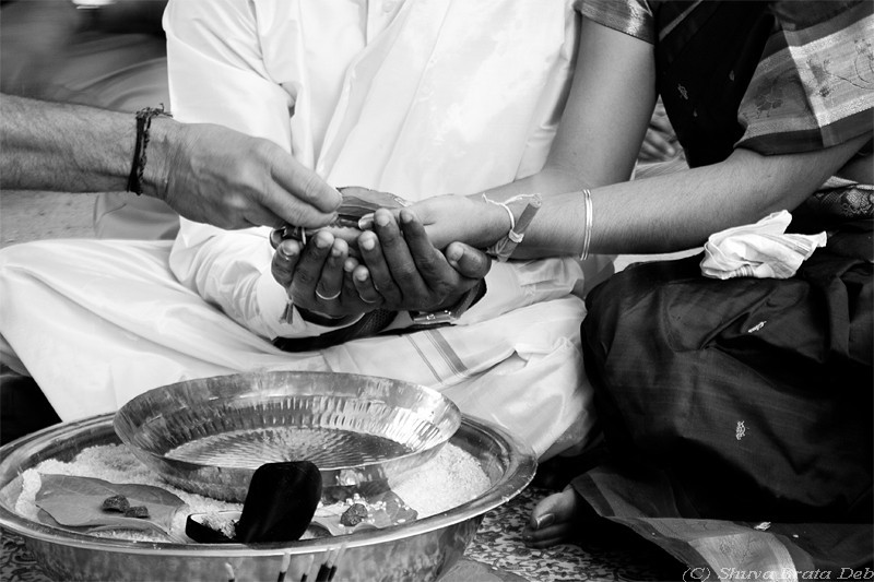 Sacred moments of an Indian marriage - I/VI