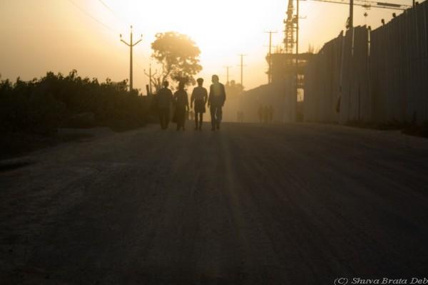 Dust & sunset
