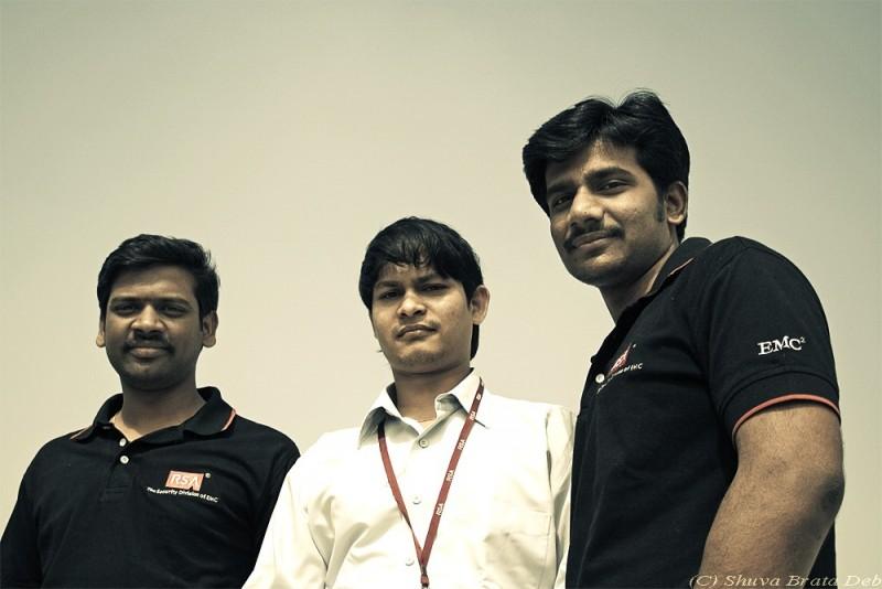 Krishna, Praveen and Suresh