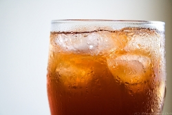 cool drink ice tea chill frost