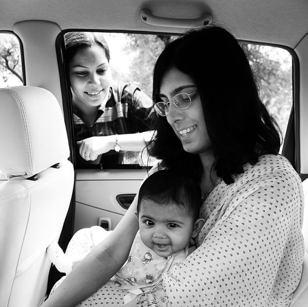 Tisha's first long drive