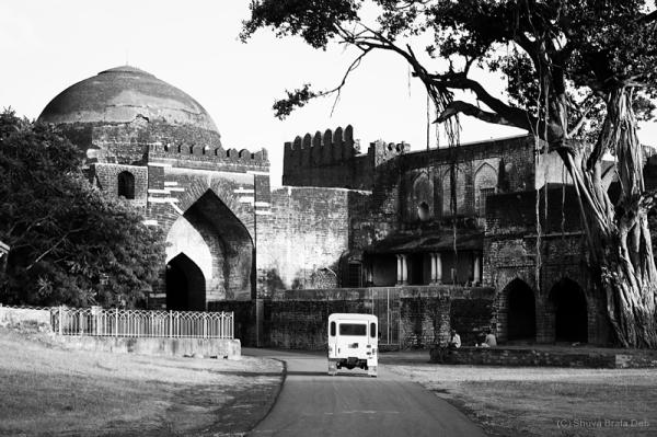 Driveway at Bidar Fort