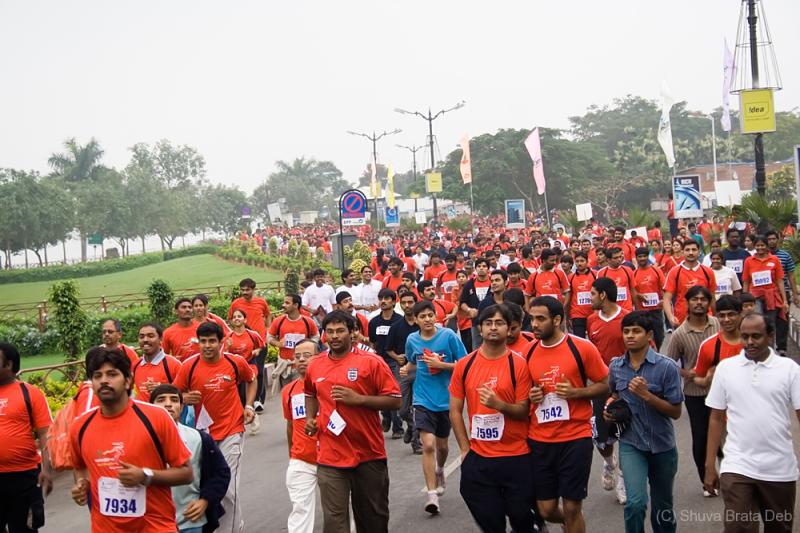 Hyderabad 10k run 2008