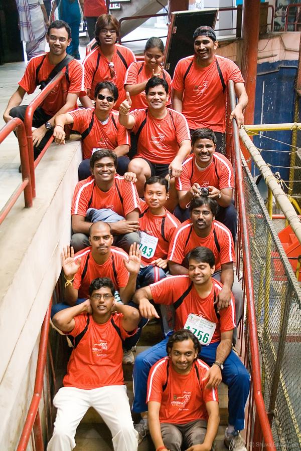 RSA team after the Hyderabad 10 k run