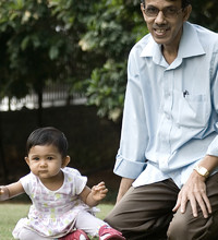 Tisha with GrandPa