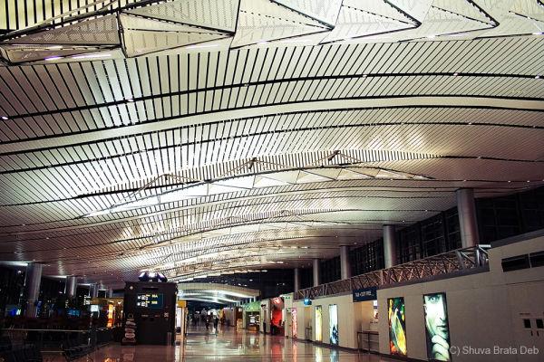 The new Hyderabad International Airport I