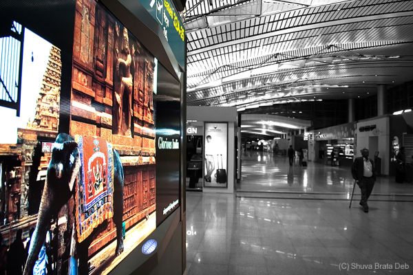 The new Hyderabad International Airport II
