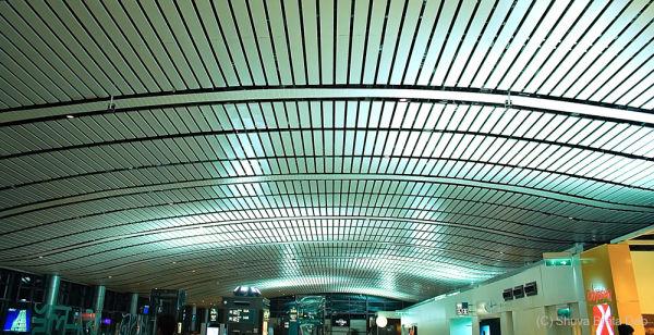 The new Hyderabad International Airport III