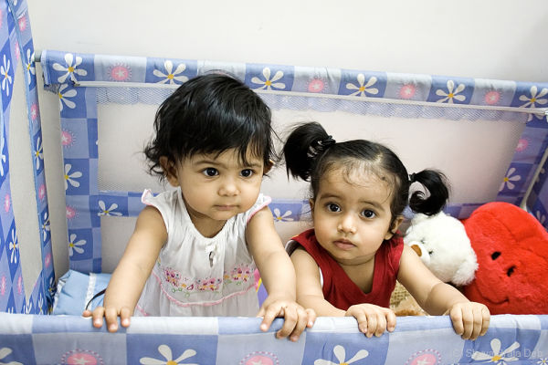 Tisha and Sanvi