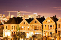 Painted Ladies of San Francisco @ Alamo Square