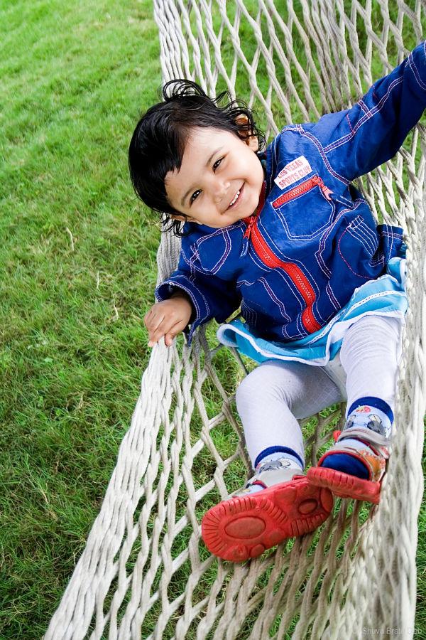 Tisha swinging