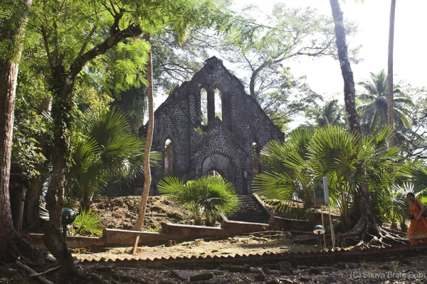 Old church @ Ross Island, Andaman