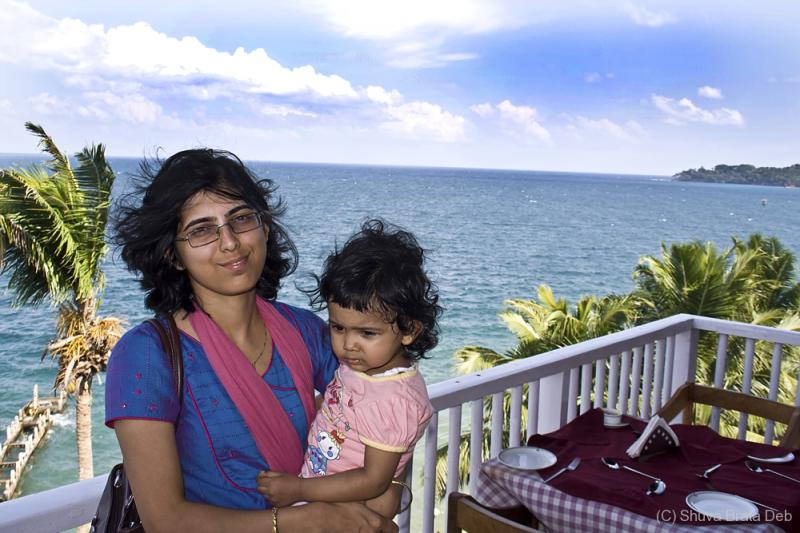 Lipika and Tisha at Bay Island Resort