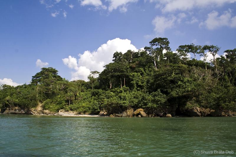 Sight seeing in Andaman Sea
