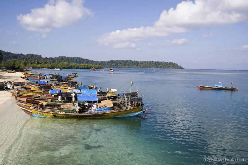 Entering Havelock Island, Andaman