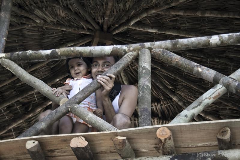 Tisha and me at a Tree House