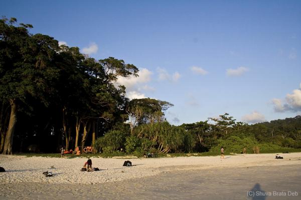 At Radhanagar Beach, Havelock Island