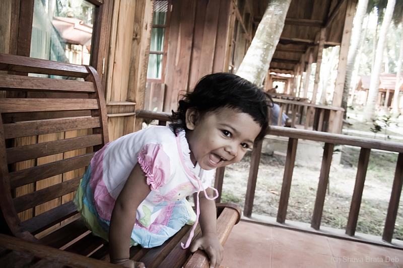 Tisha at Havelock, Andaman