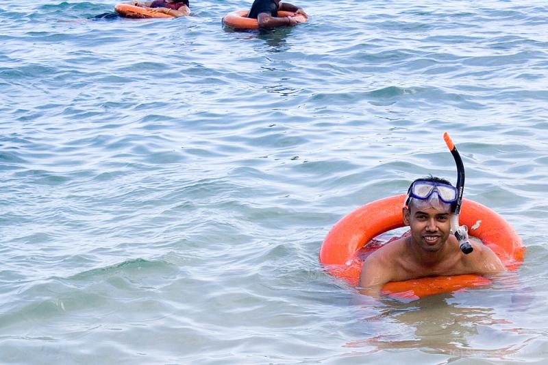 Me, Snorkeling at Havelock Island, Andamans
