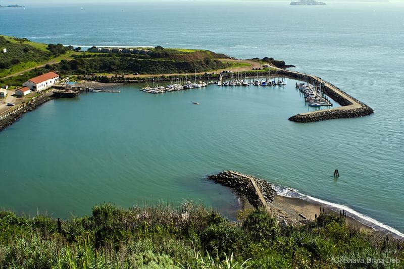 A place beside the Golden Bridge