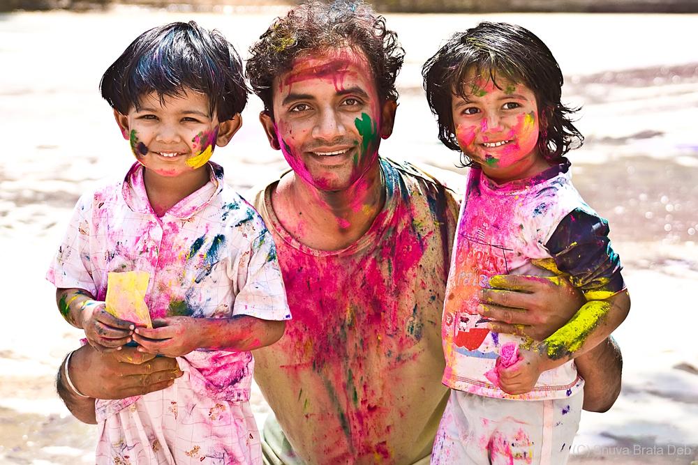 Tisha, Abhishek and Sanvi