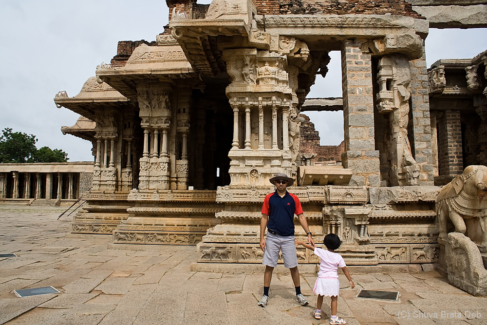 Me and Tisha at Hampi