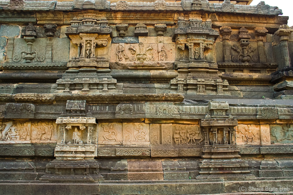 Stonework at Mahanavami Dibba