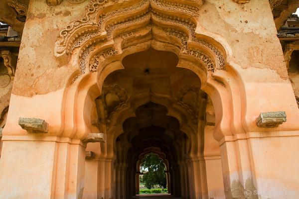 Lotus Mahal at Hampi