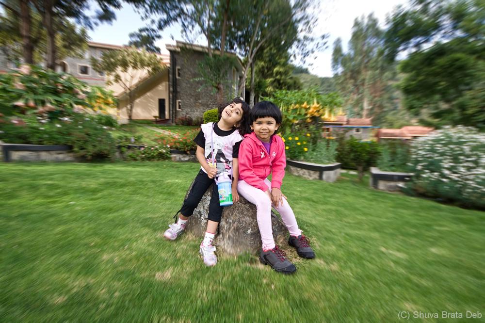 Tisha and Chiki @ Hill Country, Kodai