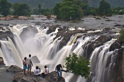 The waterfall of Hogenakkal