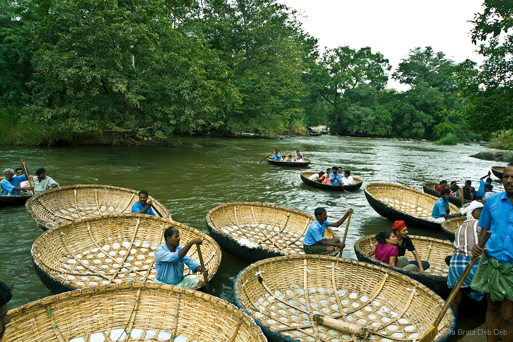 Coracles of Hogenakkal