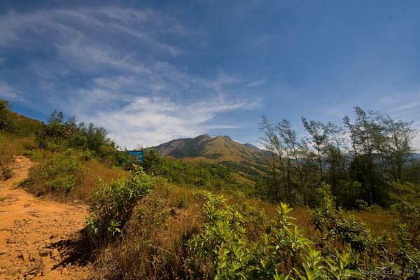 Trail to Kumara Parvatha