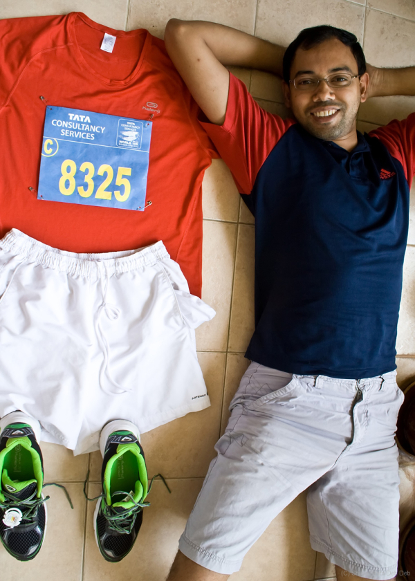 A day before the TCS Bangalore 10K run