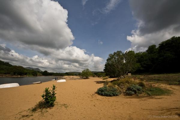 Cauvery river side at Bheemeshwari