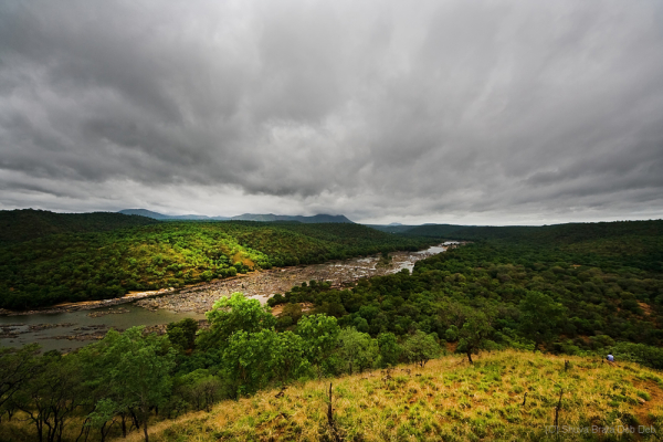 Cauvery river, valley view