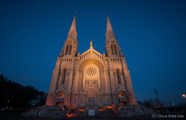 The Basilica of Sainte Anne de Beaupré