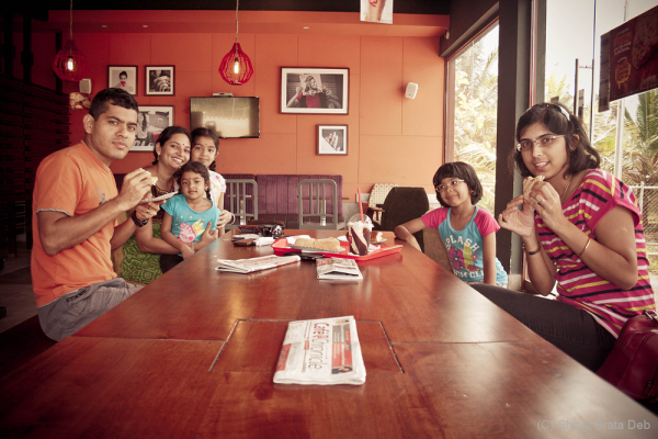 Agumbe Trip #1, at Cafe Coffee Day