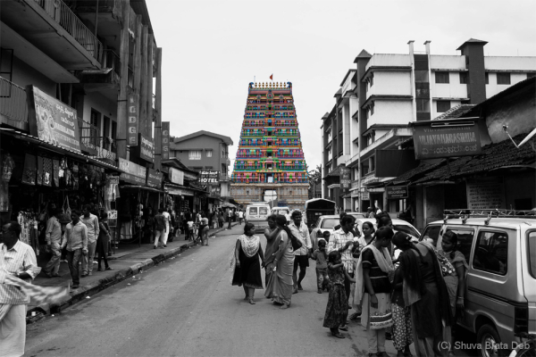 Agumbe trip #13: Sringeri temple entrance